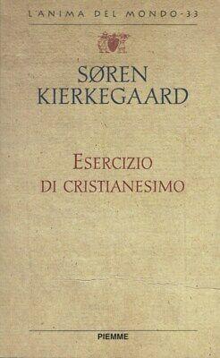 Copertina Esercizio del Cristianesimo di Søren Kierkegaard