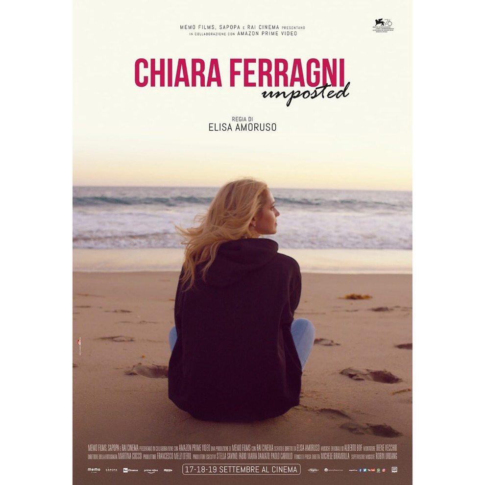 Cartellone del film di Chiara Ferragni