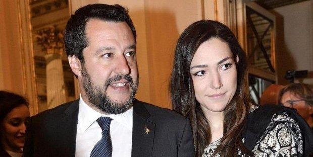 Matteo Salvini lasciato dalla fidanzata Francesca Verdini