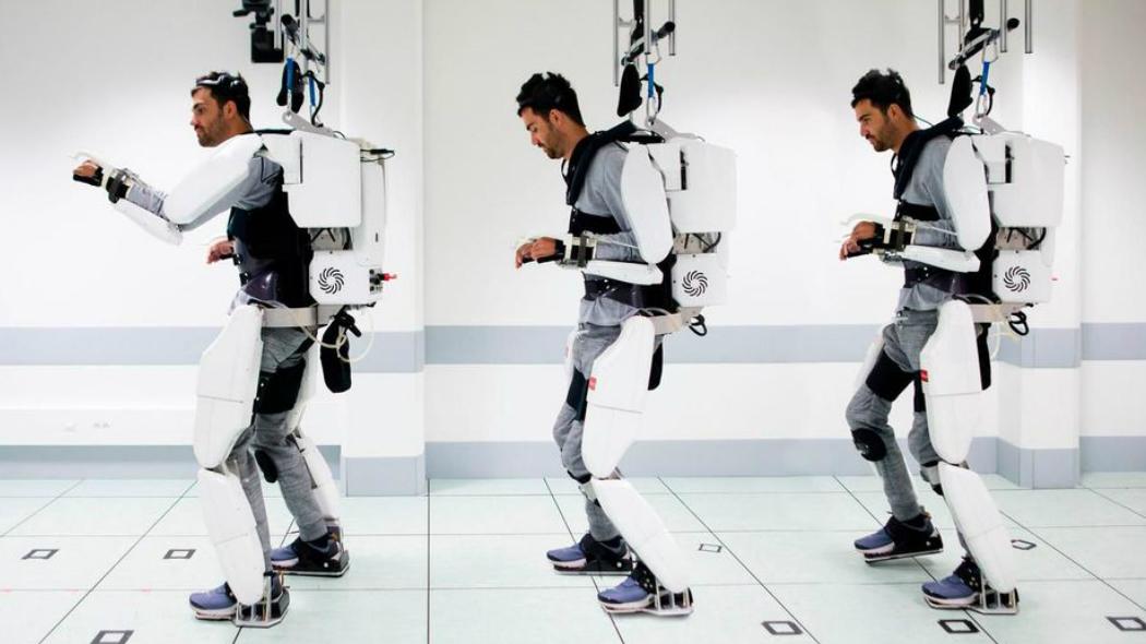 Paralizzato cammina grazie a esoscheletro guidato con il pensiero