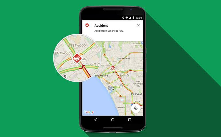 Ultimo aggiornamento Google Maps, segnala gli autovelox