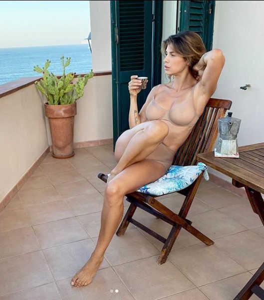 Elisabetta Canalis in Intimissimo
